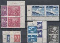 CU7637/ GERMANY – 1949 / 1950 MINT SEMI MODERN LOT