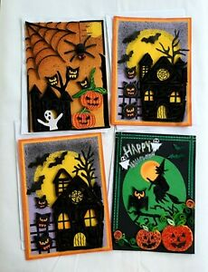 Greeting Halloween Handmade Cards 3D Envelopes Happy And Free Shipping Blank A5