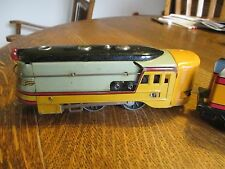 RARE 1930s AMERICAN FLYER O GAUGE HIAWATHA WING ENGINE AND TENDER - new lower $$