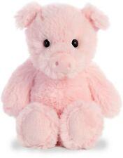 "Aurora Cuddly Friends WHITE UNICORN 8/"" Plush Floppy Stuffed Animal NEW"