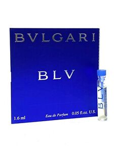 BLV by BVLGARI for Women 1.6ml-0.05oz EDP Sample Vial Tester *DISCONTINUED* (C18