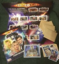 Doctor Who Series 1 Merlin Stickers Collection Mint 2004