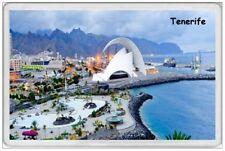 TENERIFE - JUMBO FRIDGE MAGNET  CANARY ISLANDS SPAIN SANTA CRUZ CARNIVAL HOLIDAY