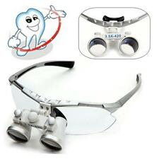 Teeth Dental Surgical Medical Binocular Loupes 3.5X 420mm Optical Glass Loupes