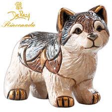 De Rosa Rinconada - Ceramic Little Wolf Figurine