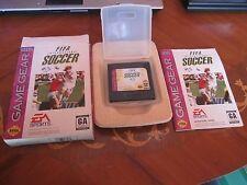FIFA Soccer Sega Game Gear in Original Box
