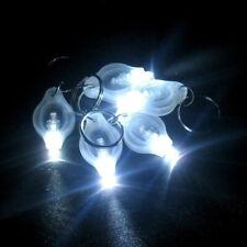 5x Flashlight Keychain Mini Led White Light Torch Keyring Flash Key Chains