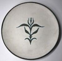 Très Rare Assiette Kergonan Céramique De Bretagne René-Yves Creston Probablement