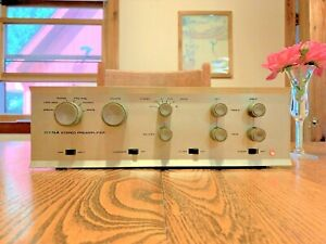 Dynaco PAS 3X Stereo TUBE Preamp w/phono new tubes Tested 21-1