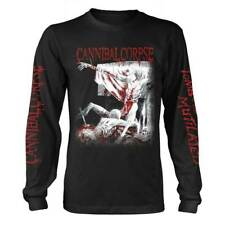 Cannibal Corpse 'Tomb Of The Mutilated Explicit' Black Long Sleeve T shirt - NEW