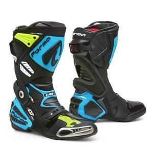 motorcycle boots | Forma Ice Pro Flow replica track road race De Meglio 2020