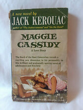Jack Kerouac MAGGIE CASSIDY vintage 1959 1st edition printing PBO