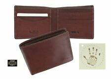 Tony Perotti Full Grain Leather Bi-Fold Wallet With RFID Protection 1002_1