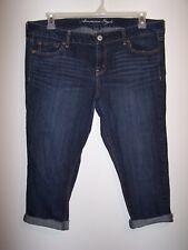 American Eagle Skinny Denim Capris, Ladies Size 16 Regular, Item #231