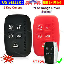 5b Silicone Smart Case Protector Holder Cover Entry Fob For Land Range Rover Key