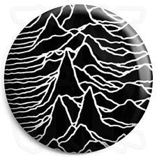Joy Division - Unknown Pleasures Album - Black - Post Punk 25mm Button Badge