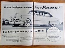 1950 Pontiac 8 Silver Streak Ad 1950 Ipana Tooth Paste Ad 1950 Vornado Fan Ad