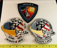 3 NASA Patches: Spacelab 2 & (2) Space Shuttle Mission Patches