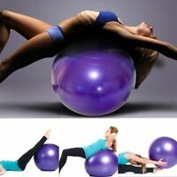 Exercise Yoga Ball with Free Air Pump  400 lbs Anti-Burst Slip-Resistant Balance