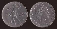 50 LIRE 1955 VULCANO - ITALIA