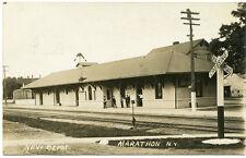 RPPC NY Marathon New Railroad Station Depot Cortland County