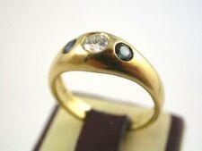 super Saphir Brillant Ring Gold 750