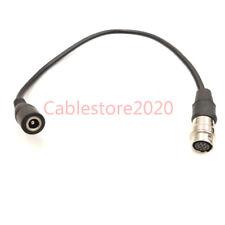 """12 Pin Hirose to DC 12v Female Cable GH4 Power B4 2/3""""Fujinon Nikon Canon Lens"""