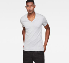 G-STAR 2-Pack T-shirt - V-Neck - SHORT SLEEVE - SLIM FIT taille:XXL Gris G Star