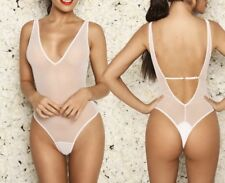 extreme transparent /see through sexy swimwear Swimming Costume size 12/14