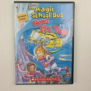 The Magic School Bus - Blows its Top DVD - Region 4 - TRACKED POST