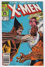 X-MEN 222 (1987) Wolverine vs. Sabretooth; VF 8.0