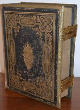 The Self Interpreting Holy Bible Protestant Family Antiquarian Rare Book