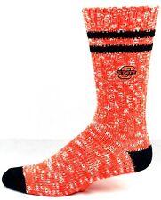 For Bare Feet Oklahoma State Cowboys Black & Orange Alpine Knit Crew Socks