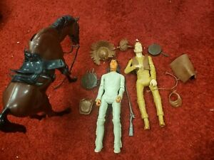 MARX JOHNNY WEST ,GERONIMO ,HORSE & ACCESSORIES