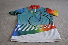 VINTAGE ERIMA CYCLING JERSEY MENS SIZE 5