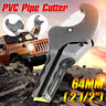 """PVC Pipe Cutter 2-1/2"""" 64mm Hose Conduit Cutting Pliers Poly Tube Ratchet"""