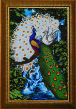 """Bead Embroidery kit GOLDEN HANDS P-006 - """"Peacocks"""""""