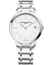 Baume & Mercier Swiss Classima Stainless Steel Bracelet Women's Watch MOA10356