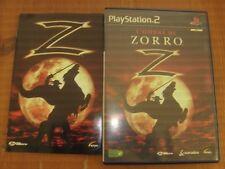 L'OMBRE DE ZORRO ( PLAYSTATION 2 - SONY ) COMPLET
