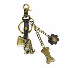 Chala Handbags Decorative Metal Purse Charm, Keychain ( Several new Designs)