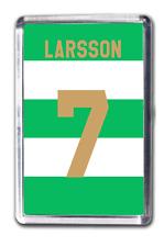 Henrik Larsson Celtic Inspired Number 7 Football Shirt Fridge Magnet