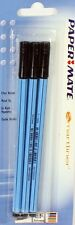 3 x Papermate Smartliner Fibre Tip Fine Liner Pens Extra Fine 0.4mm Black NEW