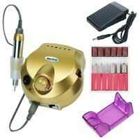35000/20000 RPM Electric Nail Drill Machine Set Mill Cutter Bits for Manicure
