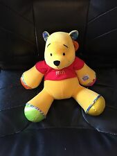 Disney Baby Winnie the Pooh Learning Curve Plush Toy Rattle Honks & Crinkle