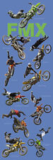 MOTORCYCLE POSTER Freestyle Motorcross FMX 12x36
