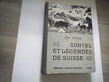 Contes et legendes de suisse