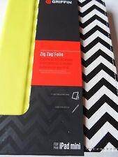 Brand NEW ZIG ZAG Griffin Folio I Pad Mini Custodia, molto grazioso elemento nuovo di zecca