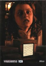 Warehouse 13 Relic Costume Card Stephanie Barrett as Alice