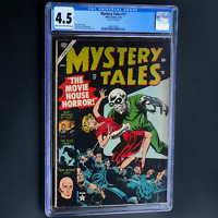 MYSTERY TALES #17 (Atlas 1954) 💥 CGC 4.5 💥 33 IN CENSUS! PRE-CODE SKULL COVER