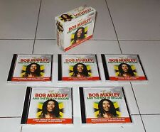 Box 5 Cd Just BOB MARLEY AND THE BEST OF REGGAE Limited edition Promo Sound 2014